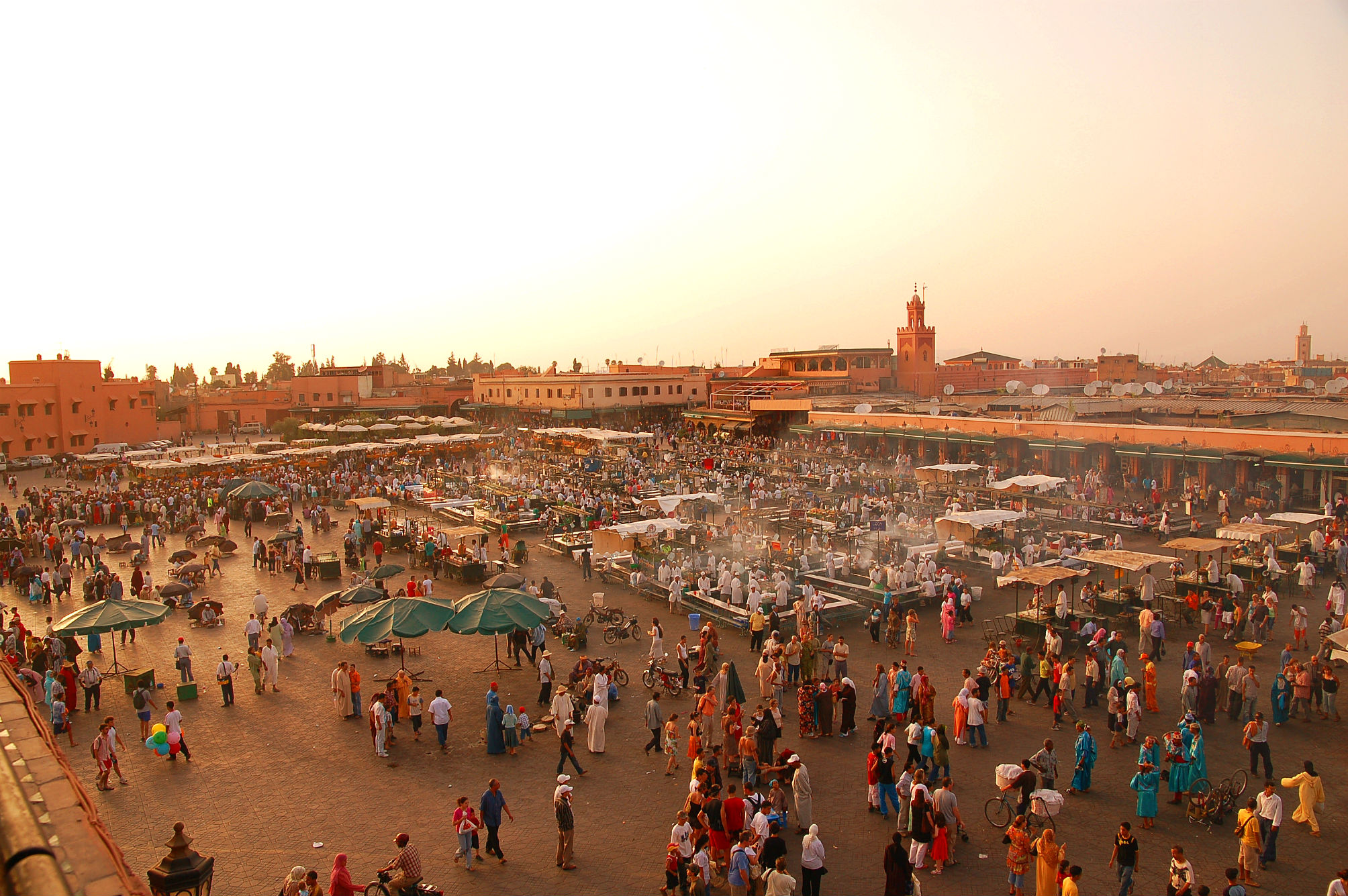 The Marrakesh experience (Image source: wikimedia.org