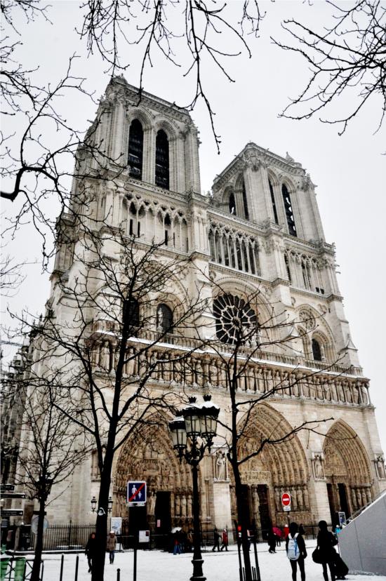 The Cathedral Notre Dame in Paris. © Dipankar Paul/FoloMojo