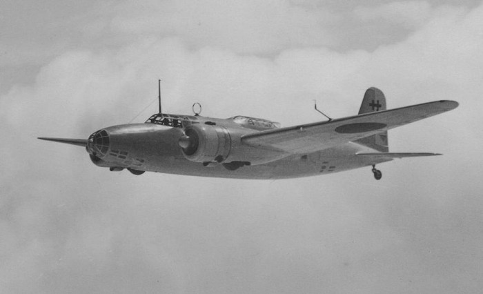 The Mitsubishi Ki-21 twin-engine heavy bomber (Allies code name Sally) that Subhas Chandra Bose and Habibur Rahman boarded at Saigon airport around 2 PM on 17 August 1945. Image courtesy: Wikimedia