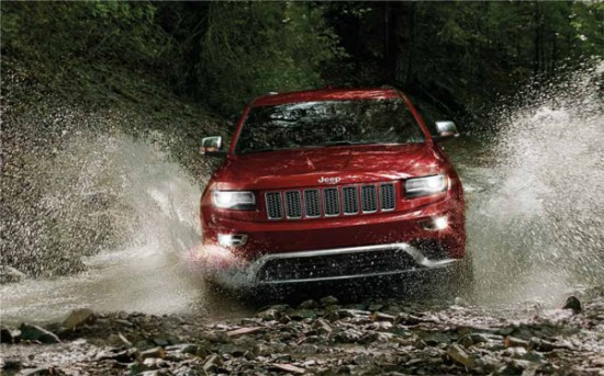 Jeep Grand Cherokee - image courtesy: Jeep