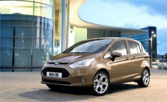Ford B-Max - image courtesy: Auto Evolution