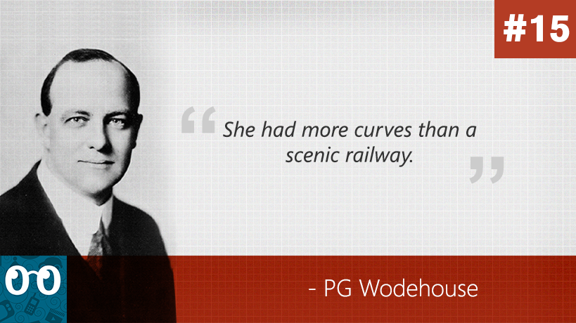 Wodehouse: 40 best quotes from the greatest musician of the English language