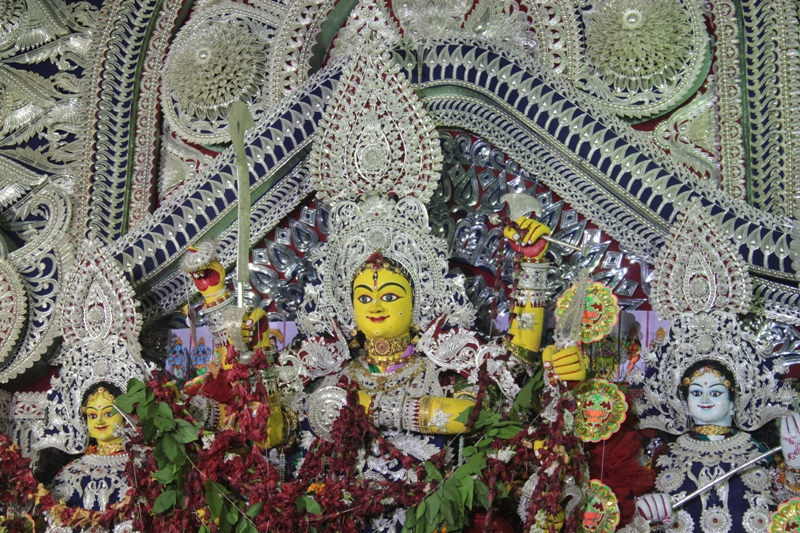 The Oldest Durga Puja at Balu Bazaar in Cuttack