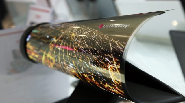 LG Rollable Display
