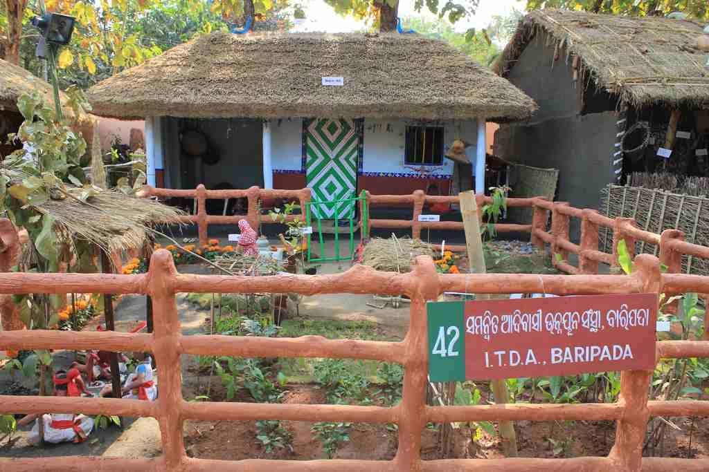 A tribal hut