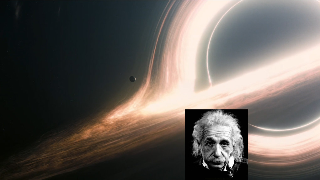 Black Hole Theory >> Gravtitational waves spotted: Starman Einstein gives a thumbs up from the skies above