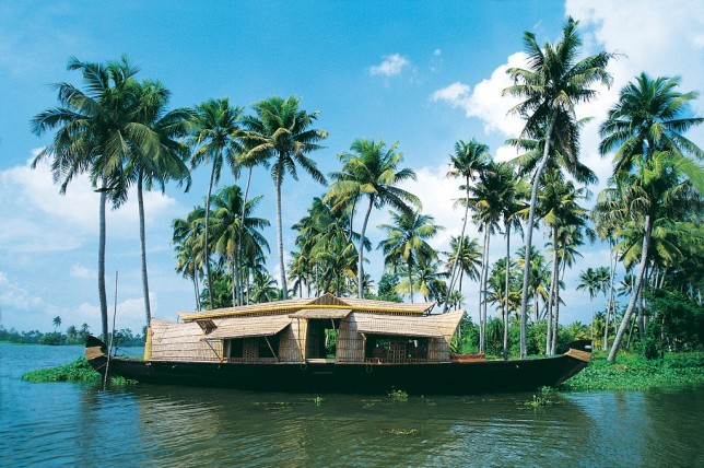 God's own : Earth, Water and Sky  Image courtesy: keralatourism.org