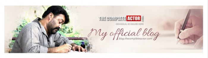 Mohanlal often airs his views on his blog image credit: thecompleteactor.com