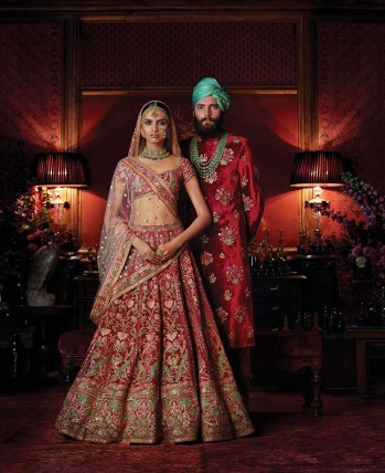 Sabyasachi Turns Instagram Into A Runway For His Latest