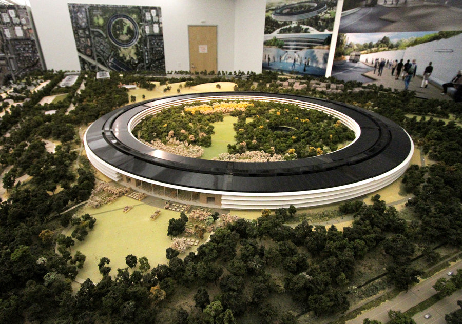 Take A Look At Apple S New Headquarters It Looks Like A