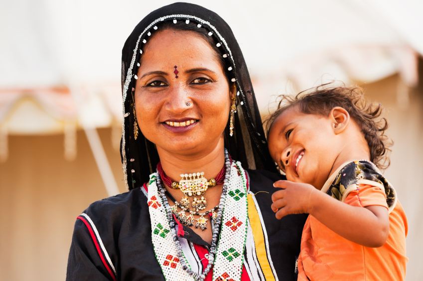 These photos of mother and child from rural India will melt your heart