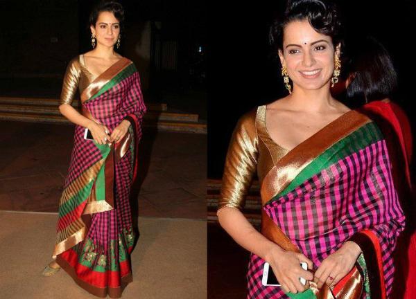 Kangana Ranaut S Top 10 Saree Looks